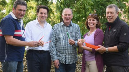 Volunteers of B4RN East Anglia who have launched a social enterprise to bring 1,000Mbps speeds to ru