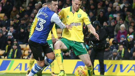 Marley Watkins starts for Norwich at Leeds this afternoon. Picture by Paul Chesterton/Focus Images