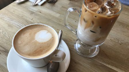 Coffee at The Boarding House Dining Rooms. PICTURE: Archant