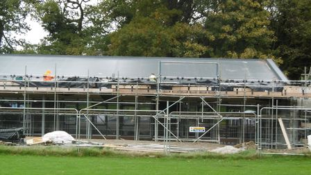 The classroom extension at Suffield Infant and Nursery School. Picture: Nichola Stewart