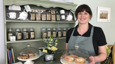 Jennie Farenden previously worked as an ambulance manager but now runs a cafe in Aylsham. Picture: B