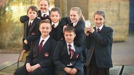 King Edward VII Academy students have been raising money for brothers Alex, 13, and Thomas, 12, whos