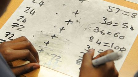 Doing their sums: It's never been more important to have a good basic grap of maths, says Sharon Gri