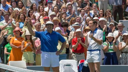 Steve Carell as Bobby Riggs in Battle Of The Sexes. Photo: Fox Searchlight Pictures/Melinda Sue Gord