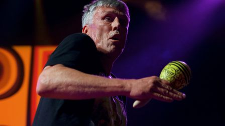 Happy Mondays performed at UEA LCR last night. Picture: Steve Hunt