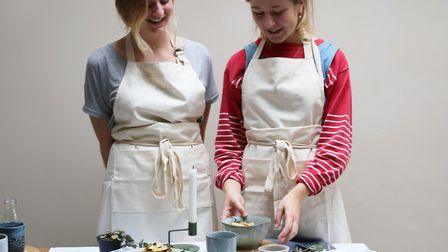 Rowan Collins and Olivia Bush, two students from Norwich will be hosting Norridge, a pop-up porridge