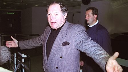 Barry Fry back in the day when he was manager of Birmingham City ... and would do anything to try a