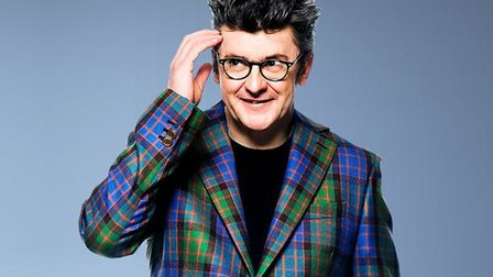 Joe Pasquale who is the new patron of St George's Theatre, Great Yarmouth. Photo: Sven Arnstein