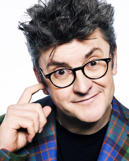 Joe Pasquale who is the new patron of St George�s Theatre, Great Yarmouth. Photo: Sven Arnstein