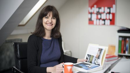 Lucy Marks, managing director of Norfolk Network, in her office at St George's Works, Norwich. Pictu