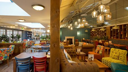 The new refurbished cafe at Thetford Garden Centre, named the Lime Kiln Kitchen. Picture: Keith Mind