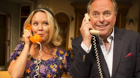 Charlie Brooks and Robert Daws in How The Other Half Loves