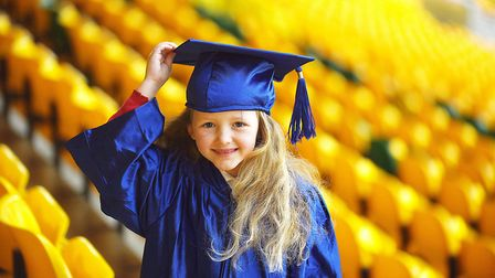 Norfolk County Council's Children's University autumn graduations. Pictured at Carrow Road is Branca