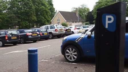 Rouen Road car park which is operated by Norwich City Council. Picture: DENISE BRADLEY