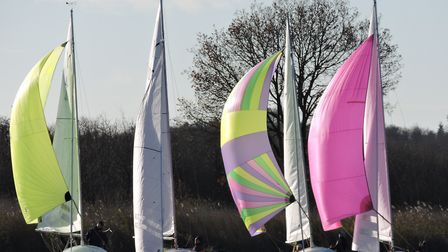 Action from Snowflake SC at the weekend. Picture: Paddy Wildman