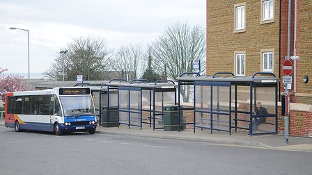Hunstanton bus station, which could be redeveloped. Pictrure: Chris Bishop