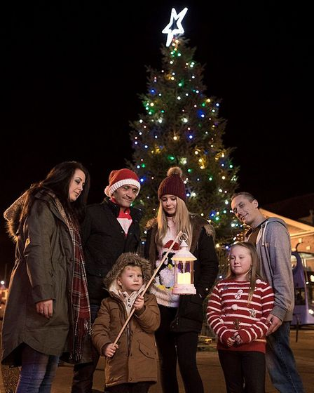 Dereham is planning a much brighter Christmas lights event this year. Picture: Michael Lyons