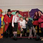 Wighton panto players get ready for their 10th panto Pinocchio and the Circus. Picture: John Glegg
