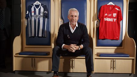 West Brom unveiled Alan Pardew as their new boss. Picture: PA