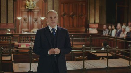 Crown Court is returning to ITV with Judge Rinder passing judgement