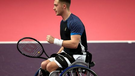 Alfie Hewett has won the Wheelchair Tennis Masters title. Picture: Ben Hoskins/Getty Images