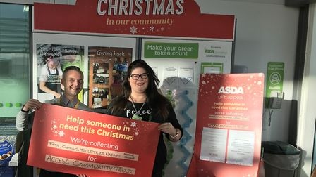 The Asda Lowestoft store has chosen Access Community Trust as their charity for this year's Christma