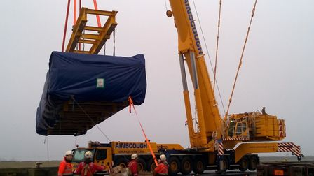 The Port of King's Lynn has received delivery of new boiler modules, which will be used in the refur