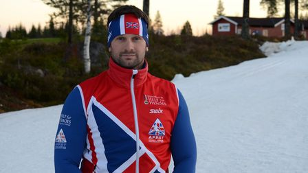 Steve Arnold is aiming for Winter Games glory. Picture: Help For Heroes