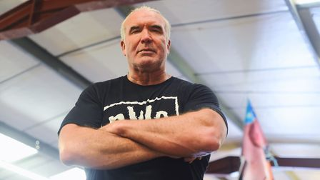 Wrestler Scott Hall, who is appearing in Lowestoft on Sunday. Picture: Ian Burt