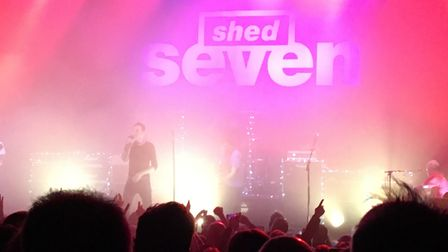 Shed Seven performing at the UEA. PIC: Dan Grimmer.