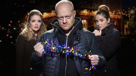 The Branning family prepare for a typically merry Christmas in Walford (c) BBC