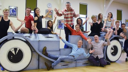 Rehearsals get under way for this year's Theatre Royal panto, Sleeping Beauty. The dance ensemble wi