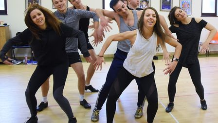 Rehearsals get under way for this year's Theatre Royal panto, Sleeping Beauty. The dance ensemble pr