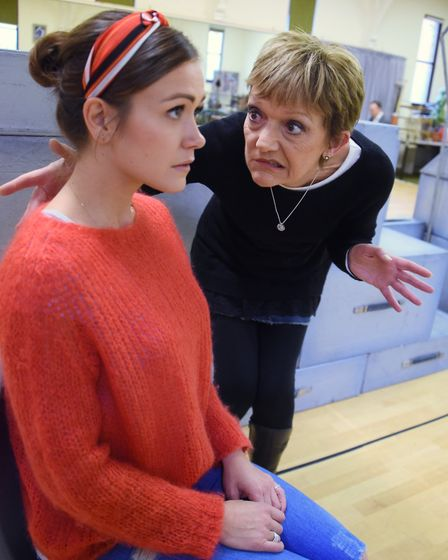 Rehearsals get under way for this year's Theatre Royal panto, Sleeping Beauty. Elizabeth Carter as P