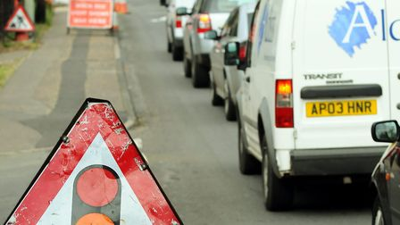 There have been delays on the B1172 from Hethersett on numerous occasions throughout the year due to