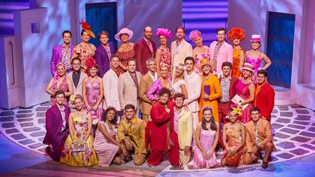 Norfolk actress Harriet Bunton is currently starring in Mamma Mia! at the Novello Theatre in London.