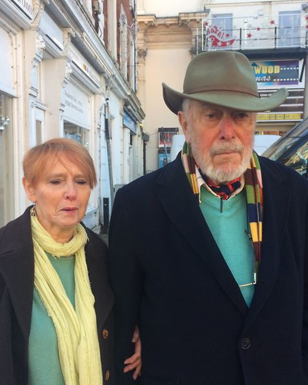 Judy and John Leary. Pic: Jessica Frank-Keyes.