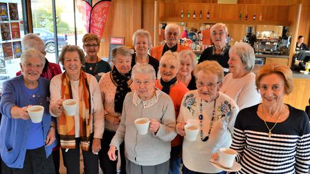 Golden Threads Club members enjoy a social session at St George's Theatre. Picture: TMS Media
