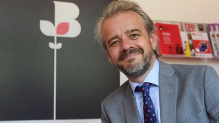 The chief executive of Norfolk Chamber of Commerce, Chris Sargisson. Picture: DENISE BRADLEY