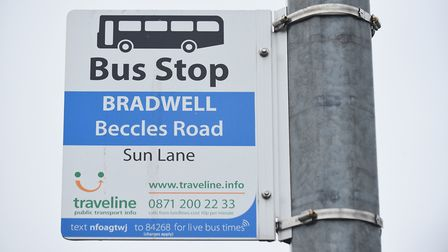Services to and from Bradwell could be among those affected if subsidies are cut. Picture: James Bas