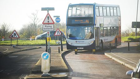 Services in King's Lynn could be affected if subsidies are cut. Picture: Ian Burt