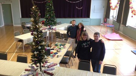 Christmas lunch organisers. Photo: Norfolk County Council