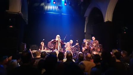 The Blockheads performing at The Norwich Arts Centre. Picture: Marc Betts