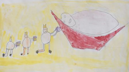 The three kings, by Alfie Forkes, aged 10.