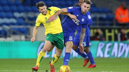 Wes Hoolahan is ruled out of the Brentford game with a hip problem. Picture: Paul Chesterton/Focus I