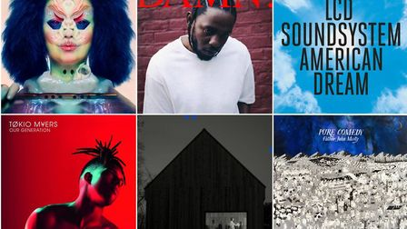 Albums of the year 2017. Photos: Submitted