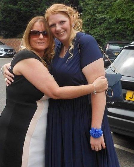 Samantha Anderson (right) after her weight loss (Photo: Slimming World)