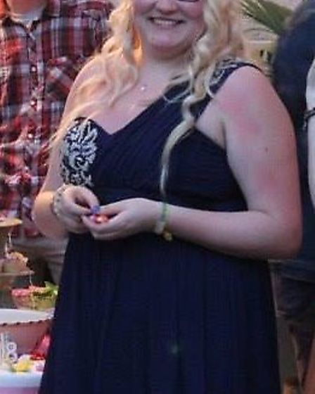 Alice Ward before her weight loss (Photo: Slimming World)