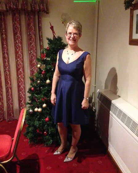 Carolyn Penn after her weight loss (Photo: Slimming World)