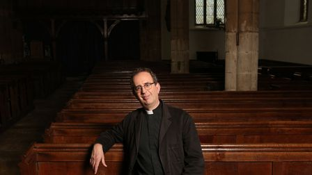Reverend Richard Coles who is preparing for a busy Christmas and has released Songs For Christmas. P